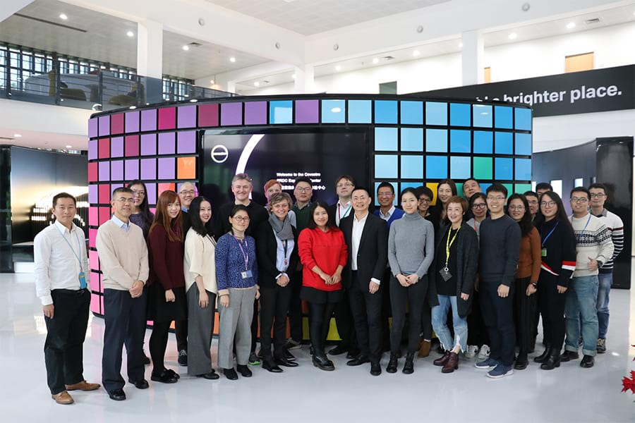 Miao Wang and Covestro